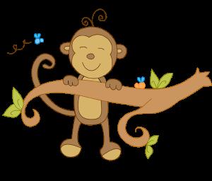 [order.upprintinvitations.org]Birthday Monkey Clip Art