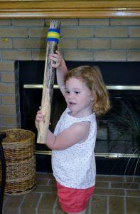 Kylie's new rain stick